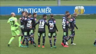 Spielaufzeichnung: SK Sturm Graz 4:3 Haladas Szombathely (4:1)