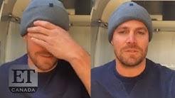Stephen Amell's Tearful Goodbye To 'Arrow'