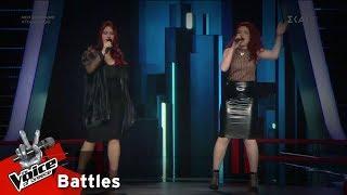 Ειρήνη Δάντση vs Jane - Addicted to Love | 4o Battle | The Voice of Greece