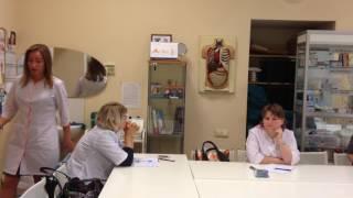 Аириском: обучение студентов; сестринское дело; антисептика, асептика