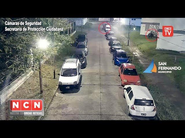 CINCO TV - San Fernando: las Cámaras ayudaron a la detención de dos ladrones de autos