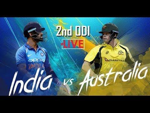India vs Australia, 2nd ODI: Live cricket score