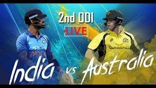 India vs Australia, 2nd ODI: Live cricket score thumbnail