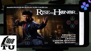 Jet Li: Rise to Honor DamonPS2 Pro PS2 Games on smartphones with Emulator Fastest in the world!