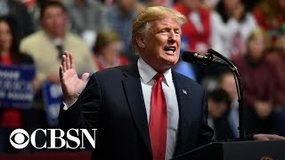 President Trump holds MAGA rally in New Hampshire, live stream