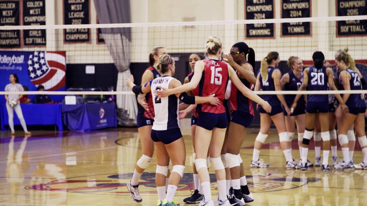 All In Usa Women S National Volleyball Team Trailer Youtube