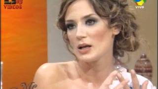 @paulitachaves almorzando con Mirtha Legrand