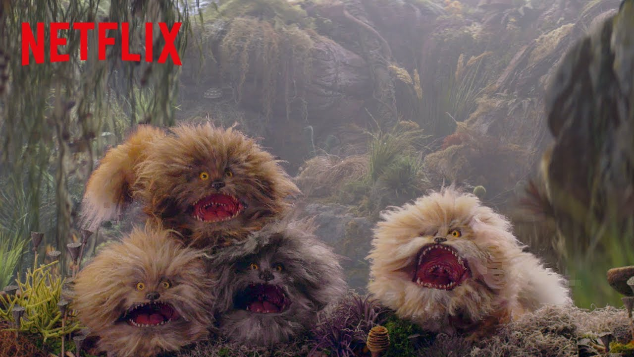 NOW STREAMING FIZZGIGS | DARK CRYSTAL: AGE OF RESISTANCE | NETFLIX