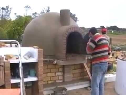 Horno de le a su terminaci n youtube - Como hacer horno de lena ...