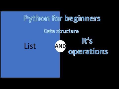 Lists in python | python for beginners | learn python | python tutorial thumbnail