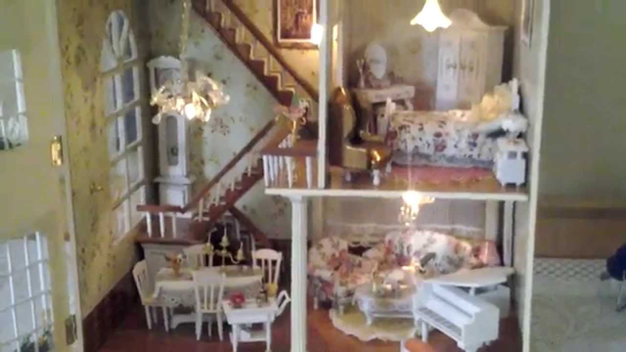 Dollhouse built using kit, build your own Dollhouse - YouTube