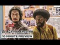 BlacKkKlansman   10 Minute Preview   Own it Now on 4K, Blu-ray, DVD & Digital