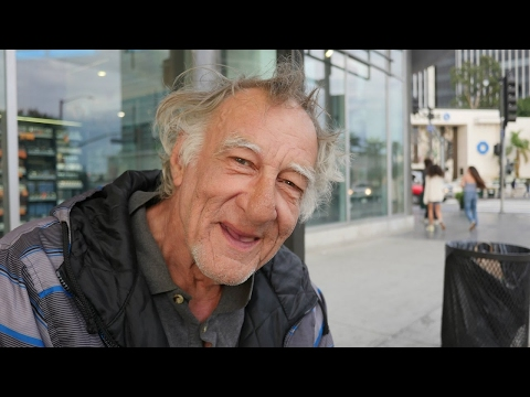 Robert worked all of his life. Now at 68 he is homeless in Los Angeles.