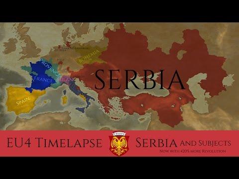 EU4 Timelapse - Serbian Empire