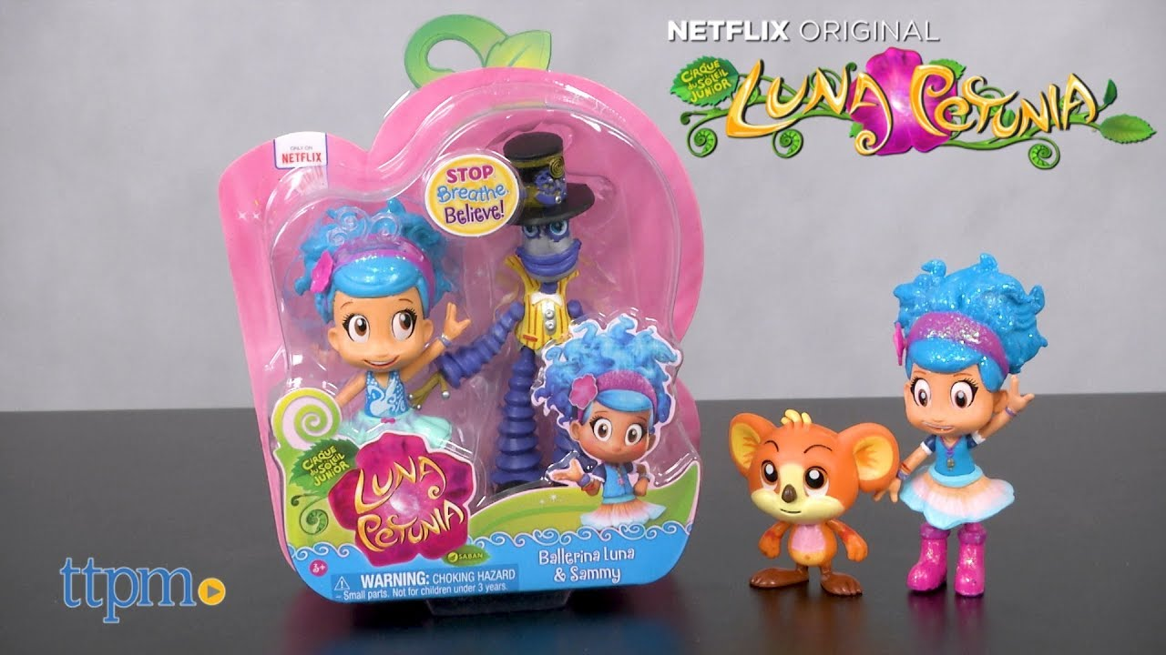 Ballerina Luna /& Sammy Funrise Luna Petunia Set of 2 Collectible Figures New