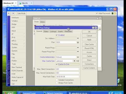 MikroTik Web Proxy (Bangla)