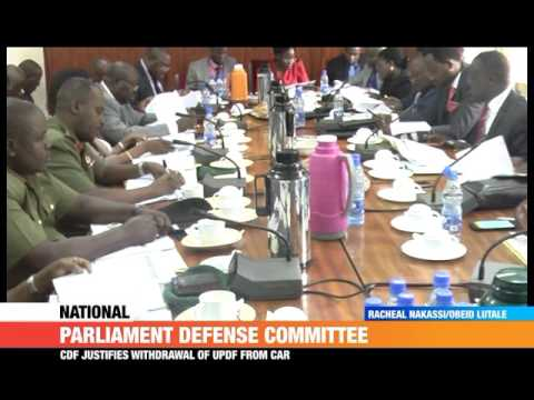 #PMLive: Withdrawal of UPDF from Central African Republic Justified