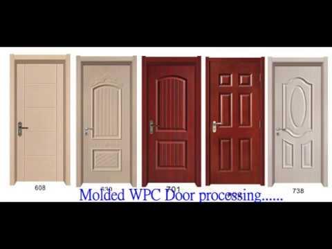 Molded Wpc Door Skin Wpc Wooden Door How To Make Wpc Wooden Door