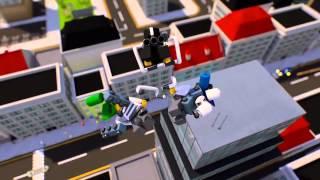Мультфильм LEGO City ʺКосмические деньгиʺ