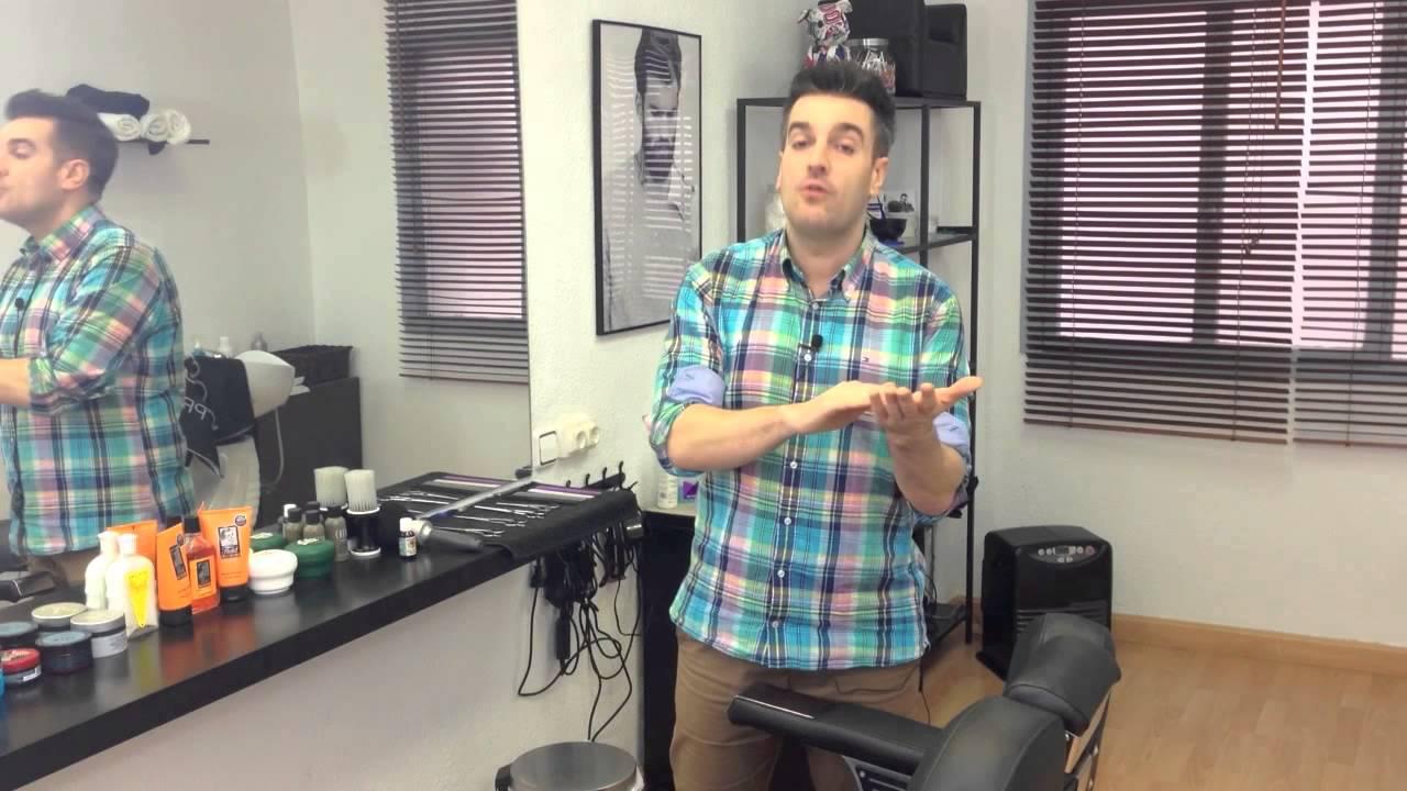Como eliminar la caspa la barber a de santo domingo tv - La barberia de vigo ...