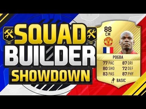 FIFA 17 SQUAD BUILDER SHOWDOWN!!! PAUL POGBA!!! New 5 Star Skiller Paul Pogba Squad Duel