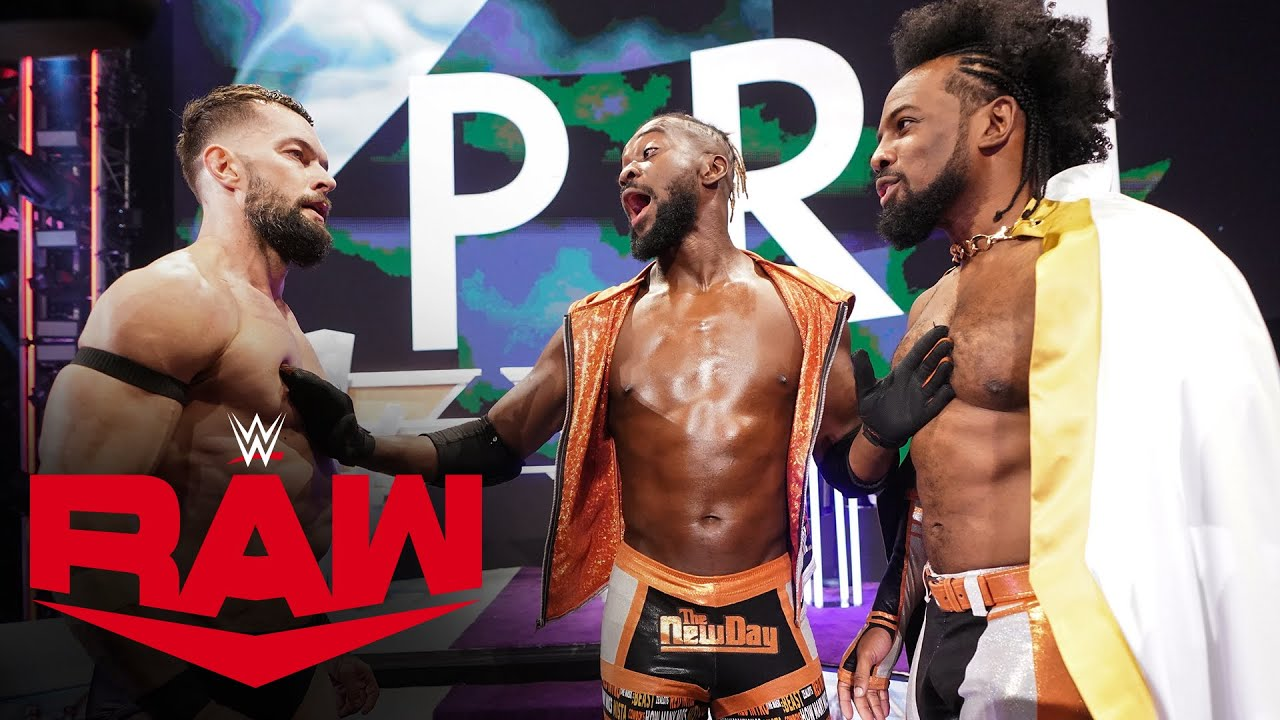 Download Finn Bálor and Xavier Woods brawl ahead of King of the Ring Finals: Raw, Oct. 18, 2021