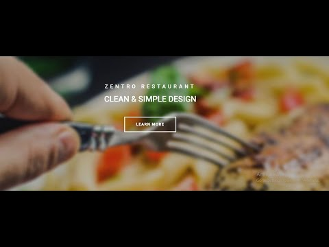 ONLINE RESTAURANT USING HTML AND CSS