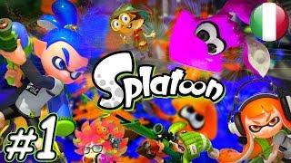 #1 Splatoon - Una nuova avventura? | Wii U Gameplay Ita