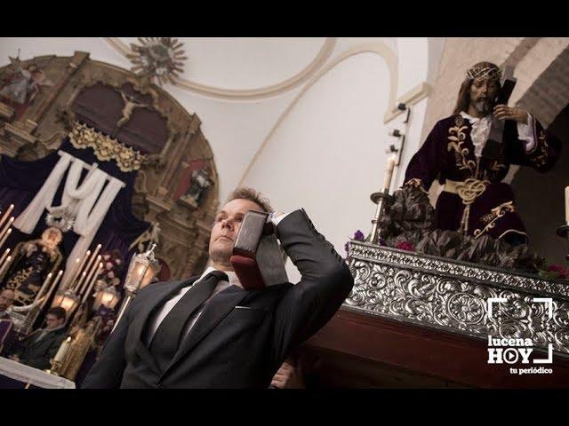VÍDEO: Vía Crucis Ntro. Padre Jesús Caído en la parroquia de Santiago