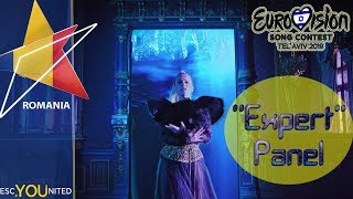 Eurovision 2019 Romania REVIEW Ester Peony - On a Sunday &#39Expert&#39 Jury