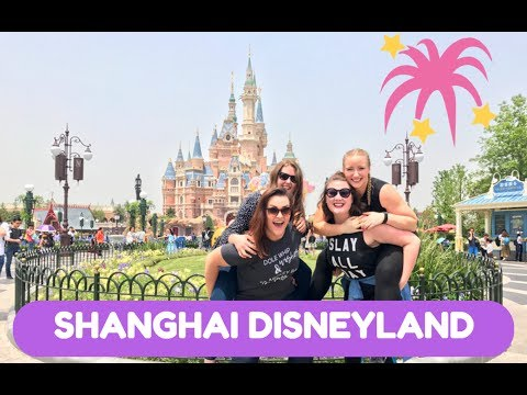 ONE DAY AT SHANGHAI DISNEYLAND