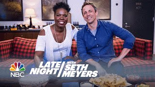Seth and Leslie Jones Watch Game of Thrones by : Late Night with Seth Meyers