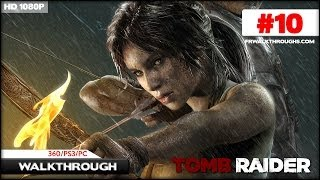 Tomb Raider Walkthrough - Hall of Ascension (360/PS3/PC) Part 10 [1080p HD]