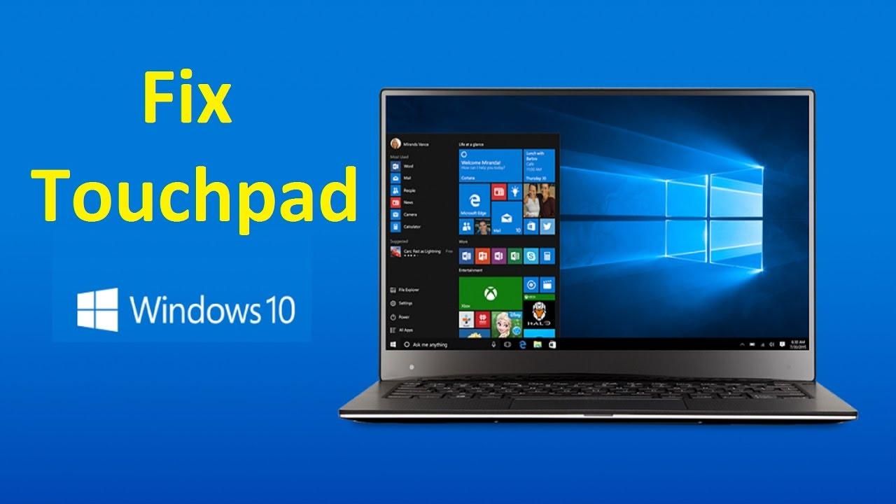 Fix touchpad Windows 10!! - Howtosolveit - YouTube