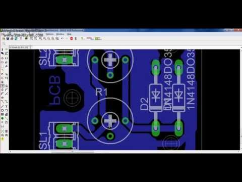 How to Design PCB Layout using Eagle (CadSoft) - Full download