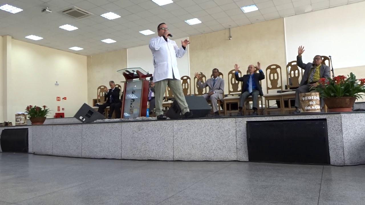 PR. RIVAIR SILVA PREGANDO A PALAVRA DE DEUS NA IPDA CAMPINAS