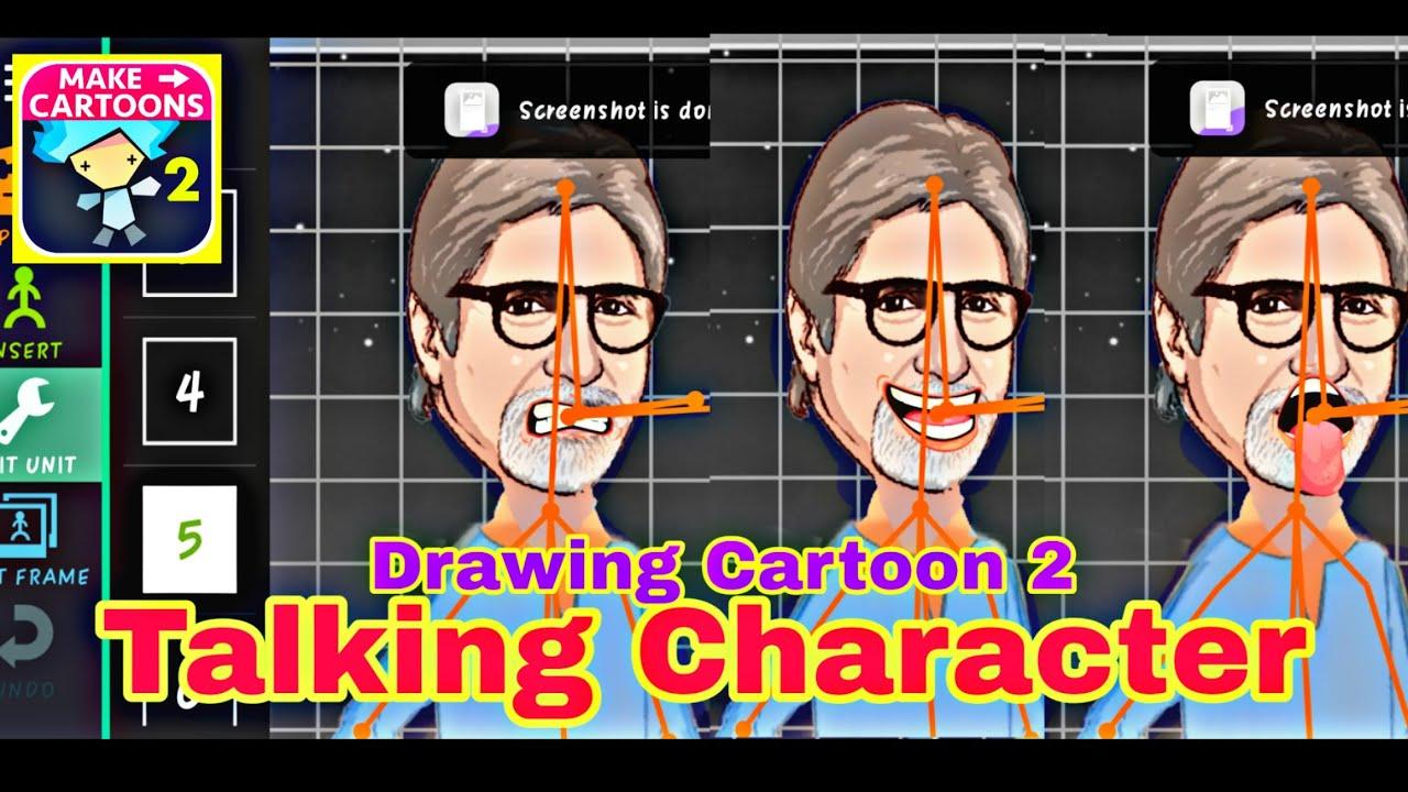 Drawing Cartoon 2 Mai Talking Ya Bolne wala character kese banaye full tutorial in hindi