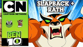 Ben 10 | The Power Of 10: Slapback + Rath | Cartoon Network UK