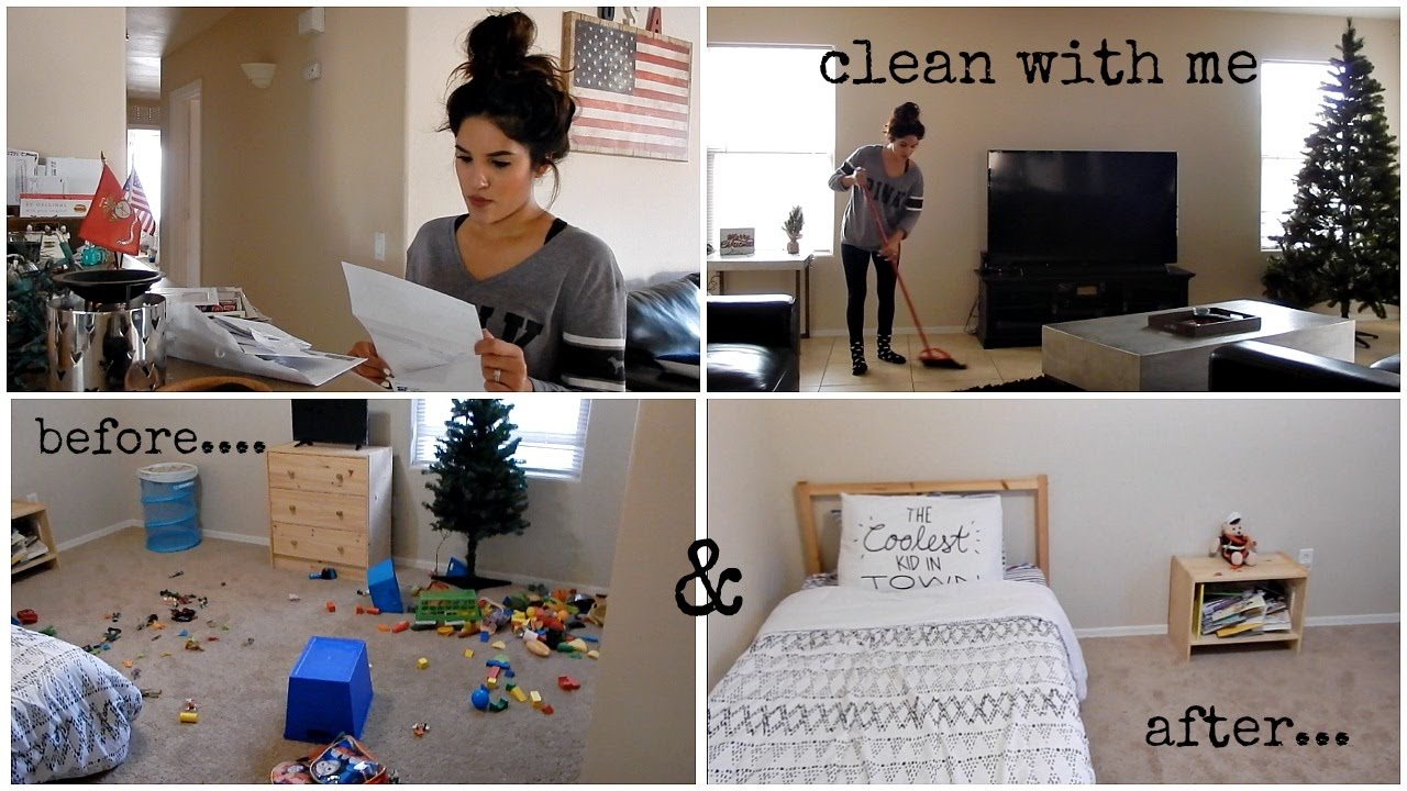 Cleaning My Entire House Vlog