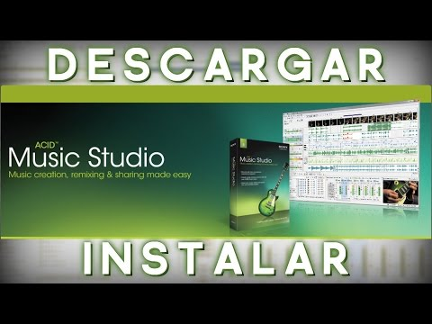 Como Descargar POR MEGA Acid Pro Music Studio 9.0 Full YFULL 32Y64 Bits MEGA Windows78 2017