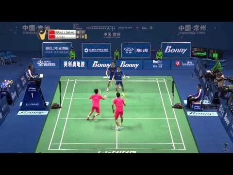 Wang Yilv/Zhang Wen vs Lu Junhui/Liu Yuchen | MD F Match 5 - Bonny China Masters 2015