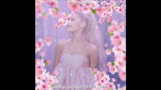 Ariana Grande - raindrops (an angel cried) Extended