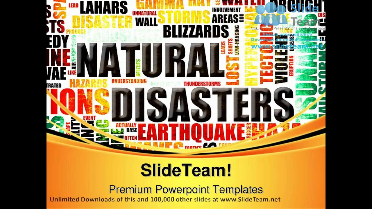Ppt On Natural Disasters For Class