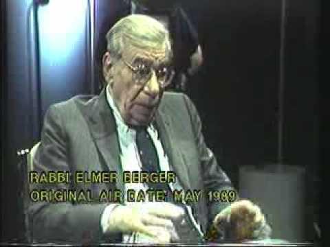 Rabbi Elmer Berger - May 1989 Air Date