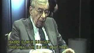 Rabbi Elmer Berger - May 1989 Air date