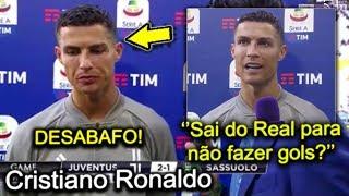Cristiano Ronaldo desabafa após dar fim a jejum de gols na Juventus