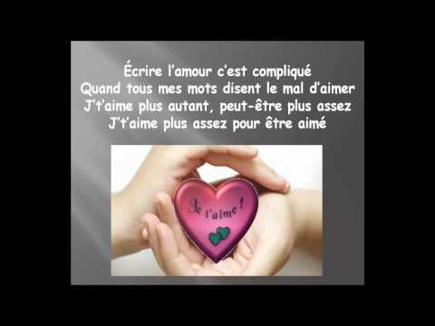 Écrire l'amour ... Étienne Drapeau