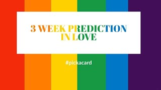 ❤️ TIMELESS READING- 3 WEEK PREDICTION IN LOVE