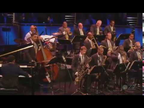 Isaiah J Thomps with Wynt Marsalis and the Jazz at Lincoln Center Orchestra