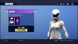 Fortnite Whiteout Outfit Neck Glitch!